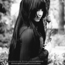 gothic modeling model lilitherz cosplay