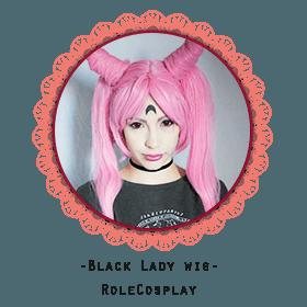 Black Lady wig