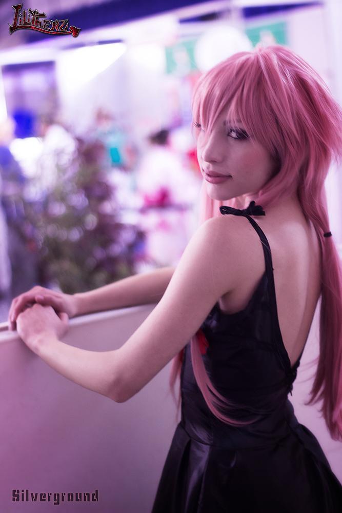 Gasai Yuno Black Dress Beauty Queen Lilitherz