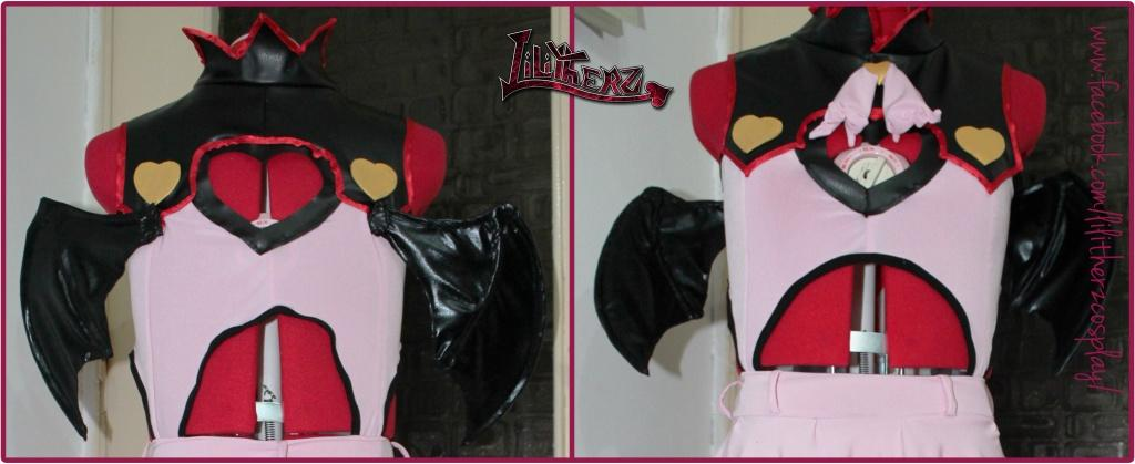 Demon wings tutorial devil cosplay sew lilitherz miku heart hunter