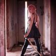 Gasai Yuno Cosplay black dress hot sexy girl